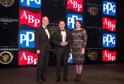 SDM winning Toyota Bodyshop of the Year 2019